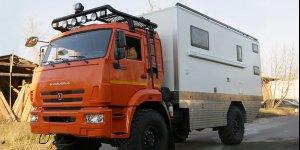 Представляем вашему вниманию внедорожный автодом  на базе Камаз 43502-45. Ковчег 016
