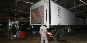 Представляем Вам Ковчег 025 - мобильный модуль на базе шасси 6м прицепа Нефаз
