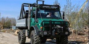 Видеообзор автомобиля для охоты - Unimog U5000 бортовой