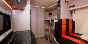 Скоро на страницах сайта! Интерьер автодома на базе шасси MB Unimog U4000