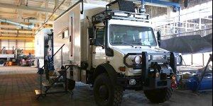 Автодом на базе шасси MB Unimog U4000, Ковчег 018