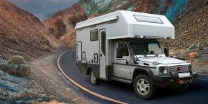 Представляем Вашему вниманию завершенный проект внедорожного автодома на базе шасси Mercedes-Benz Gelendewagen, Ковчег 023.