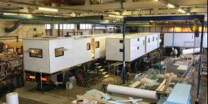 Продолжаются работы по проектам автодомов на базе полуприцепов Камаз