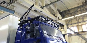 Завершается процесс сборки внедорожного автодома Камаз 43502-45. Ковчег 017