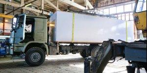 Продолжаются работы по проекту автодома на базе шасси Mercedes-Benz Actros