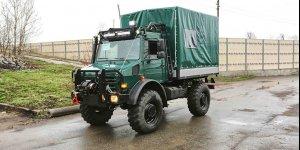 Скоро на сайте! Ковчег 017 - Unimog U5000 бортовой для сафари