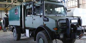 Представляем Вашему вниманию дооборудование Unimog U4000 бортом и тентом