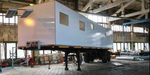 Внедорожный автодом - установка кунга 13 метров